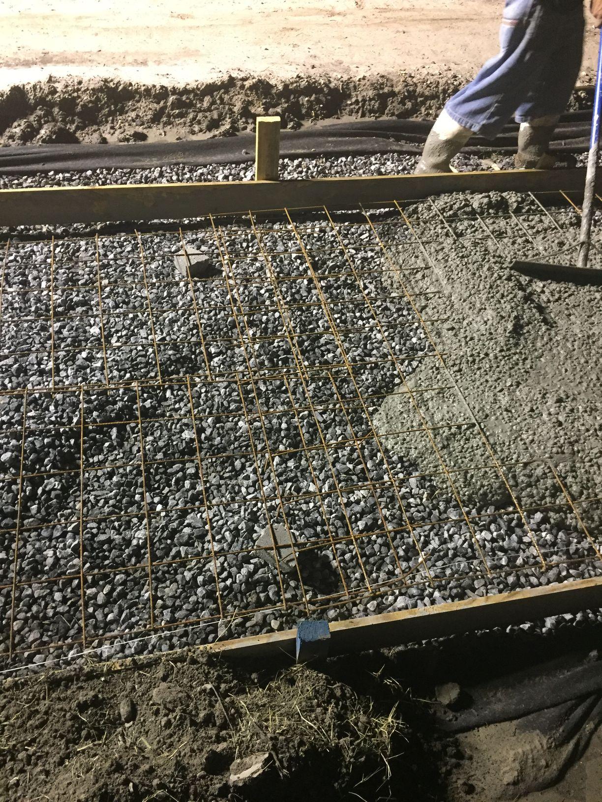 Joe Bart Walking Path Concrete Pour4